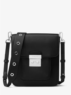 Outlet MICHAEL Michael Kors Sloan Editor Leather Messenger Black Buy Online, We are doing Factory Outlet via internet and we purchase the products directly from the factory. Michael Kors Sloan, Satchel, Crossbody Bag, What In My Bag, Handbags Michael Kors, The Ordinary, Fashion Bags, Women's Fashion, Leather Handbags