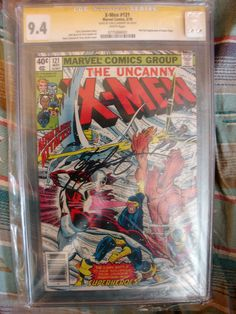 X-Men #121 CGC Signature Series 9.4 - 1st full appearance of Alpha Flight. Signed by Chris Claremont! Bronze age key issue comic.