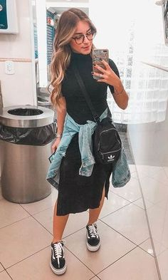 Vista o Look Modest Casual Outfits, Mom Outfits, Everyday Outfits, Classy Outfits, Modest Fashion, Chic Outfits, Fashion Outfits, Modest Wear, Style Casual