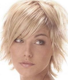 Chop Haircuts For Fine Hair   Choppy layered hairstyles for fine hair pictures 1