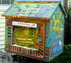 Little Free Libraryhttp://www.mnn.com/lifestyle/arts-culture/blogs/23-of-the-most-creatively-designed-little-free-libraries
