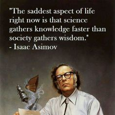 Isaac Asimov #quote #science