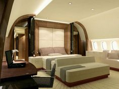 private jet...snuggle up...carry on Mr.pilot.