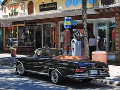 Mercedes / Classic Benz on Las Olas Blvd in Fort Lauderdale. Mercedes 280, Mercedes S Class, Classic Mercedes, Mercedes Benz Cars, Maserati, Benz Auto, Convertible, Automobile, Audi