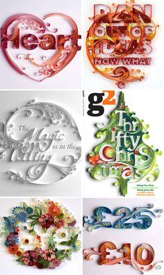Papergraphics by Yulia Brodskaya