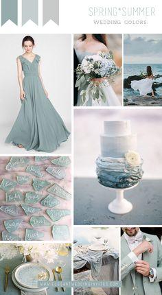 Sea Wedding Theme, Beach Wedding Colors, Wedding Mood Board, Mod Wedding, Elope Wedding, Destination Wedding, Wedding Trends, Wedding Designs, Wedding Styles