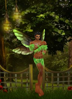 another pic of me as a pixie fairy on imvu