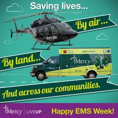 Our #EMS fleet includes 10 ambulances and two helicopters, but in reality, lives aren't saved without the expertise and care of our people! Thank you for providing the first moments of care to our patients.