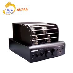 169.00$  Watch here - http://ai1q6.worlditems.win/all/product.php?id=32806663217 - AV388 Bluetooth Vacuum Tube Stereo audio Amplifier 60w + 60w USB MP3 Play BASS Audio output 2.1