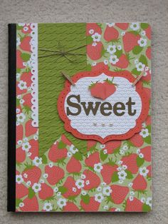 """** Altered Composition Book  """"Sweet"""""""