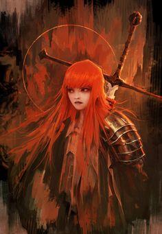 ArtStation - The Red Knight, Alexandre Chaudret