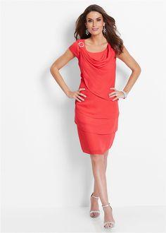 Premium Chiffonkleid im Lagenlook Hummer, Peplum Dress, Dresses, Style, Fashion, Vestidos, Swag, Moda, Fashion Styles