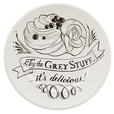 """""""Try The Grey Stuff"""" : Easy DIY Beauty and The Beast Serving Plate"""