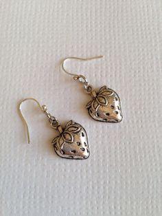 Strawberry Earrings by earringsgirl on Etsy, $7.00