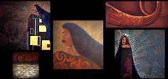 Maori : B.WAIPUKAart - Maori Artist, New Zealand Art, Painting, Maori Art, Maori Woman Artist, Maori Female, Maori Legend