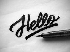 Hello 2 by Igor Vetoshkin