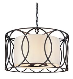 Troy Lighting Sausalito Deep Bronze Five-Light Pendant Light | F1285DB
