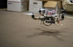 quadcopter's out of cardboard