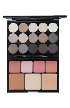 NYX 'Naked' Face Palette available at Nordstrom. I WANT THIS SO BADLY!!!!!!!!!!!!! AHHHHHHH!!!!!! Need moneyz