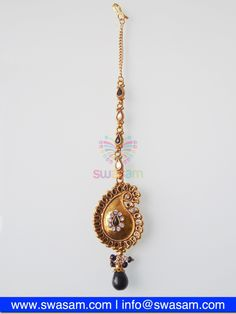 Indian Jewelry Store | Swasam.com: Tikka with Perls and White Stones - Tikka - Jewelry Shop to Buy The Best Indian Jewelry  http://www.swasam.com/jewelry/tikka/tikka-with-perls-and-white-stones-1364.html?___SID=U  #indianjewelry #indian #jewelry #tikka