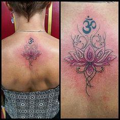 Flor de lotus by @renetattoo #sevenstarstattoo #brasiltattoo #tattoo #tatuagem #sptattoo #spink ...