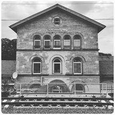 Umsteigen! #Babenhausen #Bahnhof