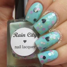 """Minty Macaron"" from Rain City Lacquer"