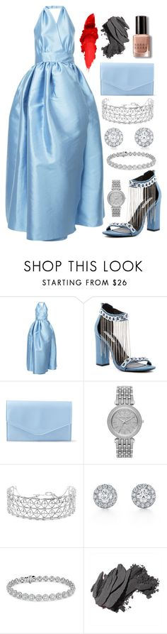"""""""the oscars 2O18"""" by nerd-ville ❤ liked on Polyvore featuring Alexis Mabille, Cape Robbin, Steve Madden, Michael Kors, Co.Ro, Blue Nile and Bobbi Brown Cosmetics"""