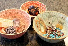 How to Organize Your Jewelry with Decorative Bowls