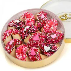 """This lovely gourmet gift is an original way to say """"I Love You!"""" Get the """"Romantic"""" Wheel of Fortunes, available at the Food Network Store."""