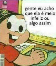 Memes safadeza cebolinha Ideas for 2019 Best Memes, Dankest Memes, Funny Memes, Hilarious, Got7, Bd Comics, Relationship Memes, Meme Faces, Cringe
