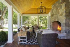 Cool Outside Fireplace vogue Boston Farmhouse Porch Inspiration with colonial farmhouse covered porch farmers porch farmhouse historic Lynnfield modern farmhouse outside fireplace oversize Outdoor Sofa, Outdoor Living, Outdoor Decor, Outdoor Ideas, Outdoor Spaces, Outside Fireplace, Brick Fireplace, Fireplace Candles, Country Fireplace