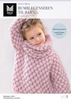 Bumblegenseren Til Barn - Køb billigt her Baby Knitting Patterns, Knitting For Kids, Crochet For Kids, Hand Knitting, Crochet Baby Cardigan, Knit Baby Sweaters, Crochet Jacket, Baby Set, Diy Crafts Knitting