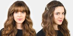Can't deal with your bangs? Try a mini French twist. See how to do it plus four other styles that will get your bangs out of your face chicly.