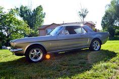 '66 Mustang + NASCAR V8 = One Crazy
