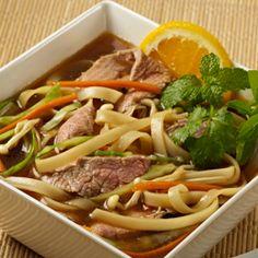 Florida Orange Pho Vietnamese Beef Broth And Noodle Soup ‹ Florida Department of Citrus