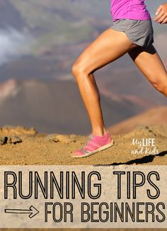 Thinking about running? 20 GREAT running tips for beginners. Running is a great form of exercise, and with these 20 tips, you'll be a runner in no time! (#10 was brand new to me!)