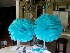 Imperfectly Beautiful: How to Make Tissue Paper Pom Poms