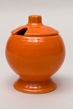 Vintage FIestaware: Original Radioactive Red Fiesta Ware......so cute I have all 6 colors in this