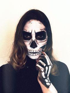 HAPPY HALLOWEEN: Idées Makeup pour Halloween squelette