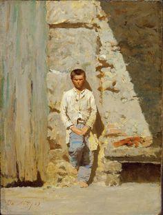 Giuseppe De Nittis, Bambino al sole, 1869