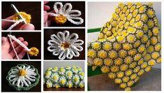 34 Magníficos Patrones de Flores en Crochet