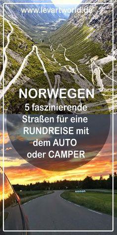 In diesem Beitrag findest du wichtige Tipps für deinen Urlaub in Norwegen mit dem Auto oder Wohnmobil. Außerdem möchte ich dir einen kleinen Einblick in unsere Roadtrip-Pläne mit Kindern geben und fünf faszinierende Landschaftsrouten vorstellen.