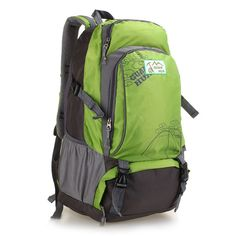 Fresh Green Waterproof Seismic Trend Backpack|Fashion Backpacks - Fashion Bags- ByGoods.com