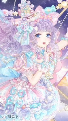 Love Nikki Dress up Queen Kawaii Art, Kawaii Anime Girl, Anime Art Girl, Manga Girl, Pretty Anime Girl, Beautiful Anime Girl, Anime Love, Beautiful Fantasy Art, Anime Girl Drawings