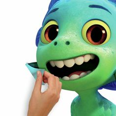 Pixar Luca Sea Monster Peel and Stick Giant Wall Decals
