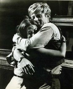 Robert Redford and Natalie Wood in This Property Is Condemned /// THIS embrace is not acting, and you can feel the difference decades later. Celebrities Before And After, Celebrities Then And Now, Robert Redford, Le Talent, Splendour In The Grass, West Side Story, Old Movie Stars, Cinema, Sundance Film