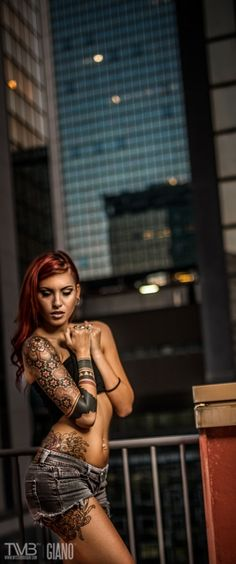 URBAN TATTOO GIRL 2 by Giano Art on 500px