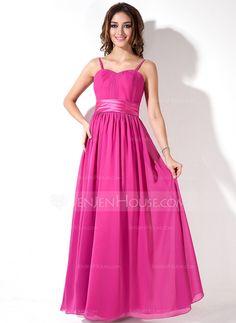 Bridesmaid Dresses - $99.99 - Empire Sweetheart Floor-Length Chiffon Charmeuse Bridesmaid Dress With Ruffle (007000933) http://jenjenhouse.com/Empire-Sweetheart-Floor-Length-Chiffon-Charmeuse-Bridesmaid-Dress-With-Ruffle-007000933-g933?ver=1