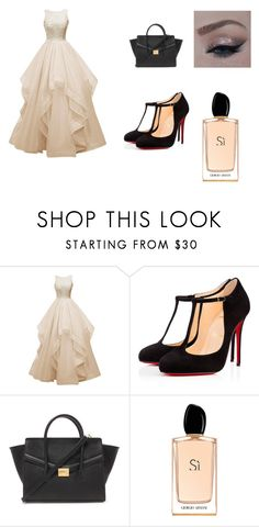 """Untitled #377"" by asiannaluxxx on Polyvore featuring Christian Louboutin, Forever 21, Giorgio Armani, women's clothing, women's fashion, women, female, woman, misses and juniors"